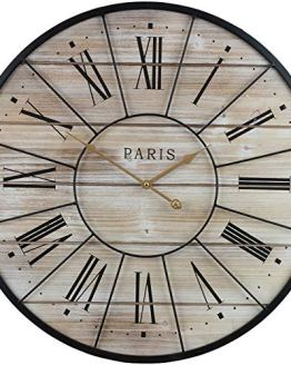 Paris Oversized Wall Clock Centurion Roman Numeral Hands