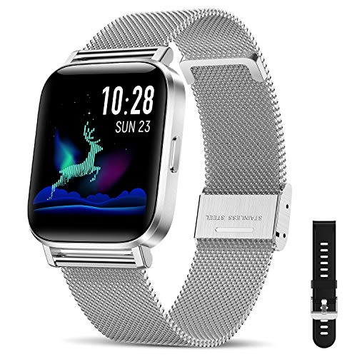 CanMixs Smart Watch for Android Phones iOS Bluetooth
