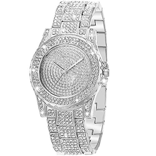ManChDa Luxury Ladies Watch Iced Out Watch