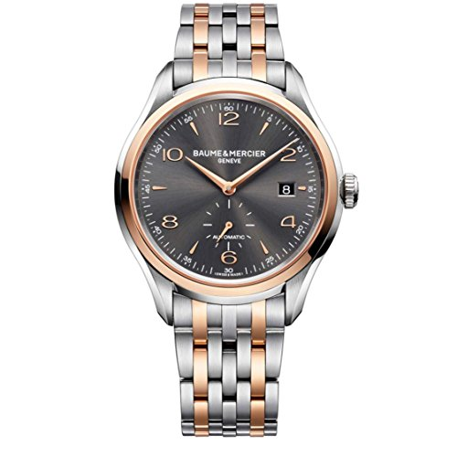 Baume, Mercier Clifton Two Tone Stainless Steel Mens Automatic Watch