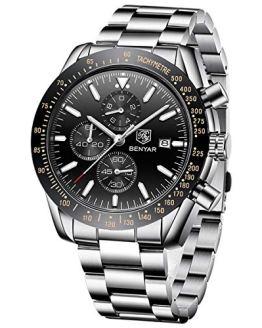 BENYAR Chronograph Wrist Watch for Men | Classic Design