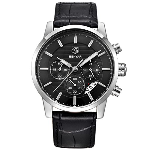 BENYAR Chronograph Waterproof Wrist Watch