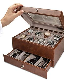 Watch Box Organizer Leather case