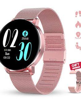 GOKOO Smartwatches with Heart Rate Sleep Monitor