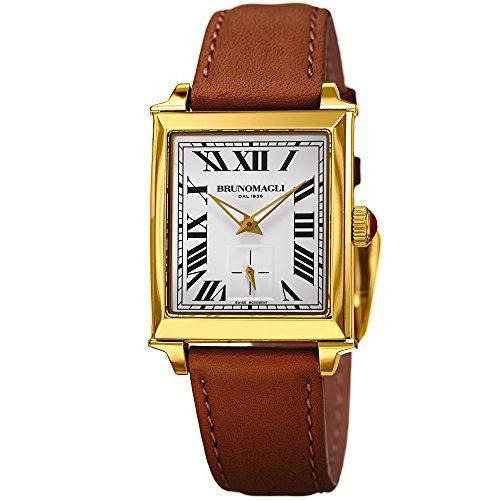 Bruno Magli Italian Leather Strap Watch