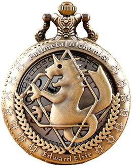 Fullmetal Alchemist Anime Accessories Quartz Pocket Watch