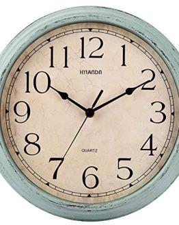 Vintage Silent Retro Wall Clocks Battery