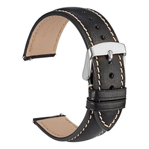 Quick Release Watch Band 18mm - Full Grain Leather Watch Straps