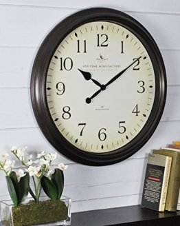 Wall Clock, American Crafted, Oil Rubbed Bronze