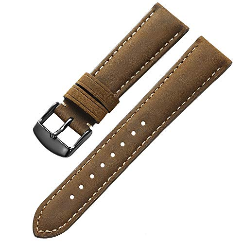 Pin iStrap Genuine Calfskin Leather Watch Band