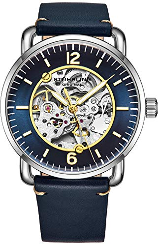 Stuhrling Original Mens Skeleton Watch - Automatic Watches