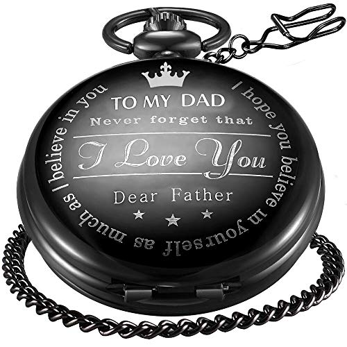 Retro Vintage Quartz Roman Numerals Pocket Watch