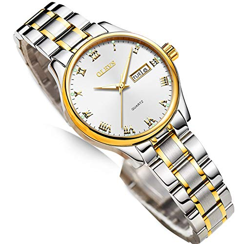 Ladies Dress Watches with Stainless Steel
