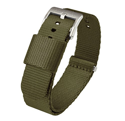 NATO Style Watch Strap 18mm Army Green