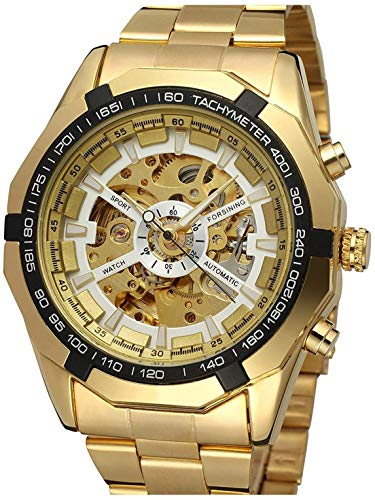 Automatic Watch with Stainless Steel Bracelet