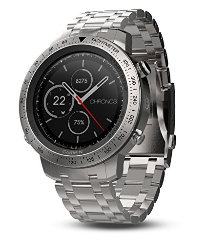 Garmin Fenix Chronos, Steel with Brushed Stainless Steel