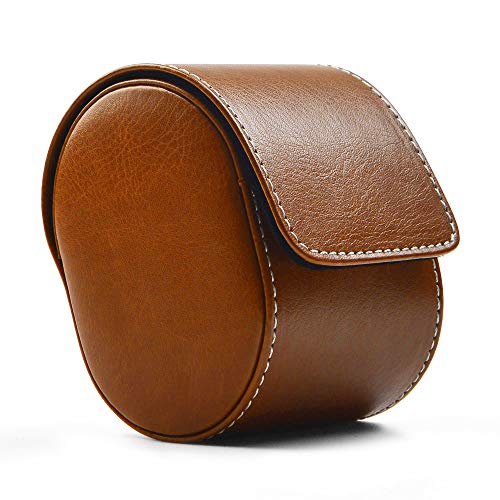 Leather Watch Storage Box Travel Single Watch Case