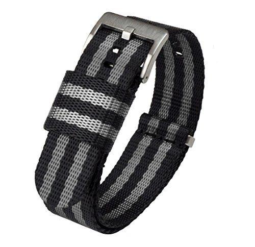 BARTON Jetson NATO Style Watch Strap 18mm Black