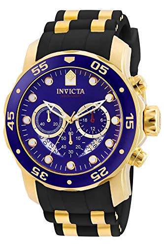 Invicta Men's Pro Diver Scuba 48mm Gold Tone Stainless Steel