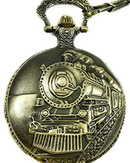 Historical Train Pocket Watch North American Railroad Approved