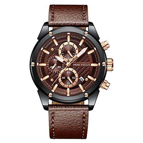 Mens Luxury Watches Business Chronograph Sport Waterproof