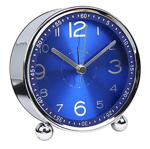 Non-Ticking Silent Chengsan Alarm Clock Desk