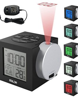 Projection Alarm Clock, Projector Time on Ceiling Wall