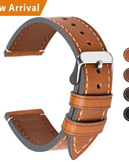 Top Leather Watch Strap Replacement 22mm