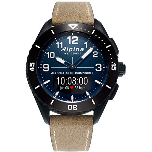 Alpina Men's ALPINER X Stainless Steel Swiss Quartz Sport Watch