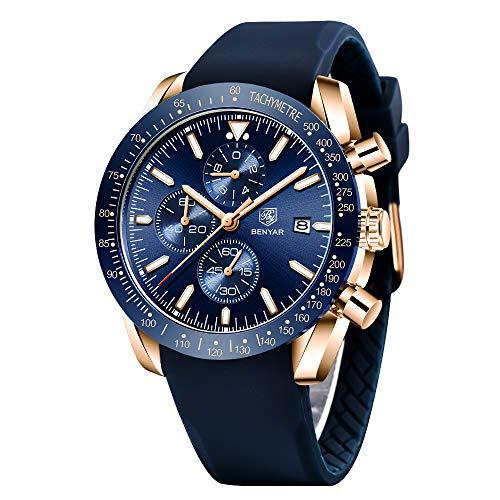 Genuine Silicone Strap Watch BENYAR