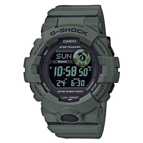 Men's Casio G-Shock Green Power Trainer Watch