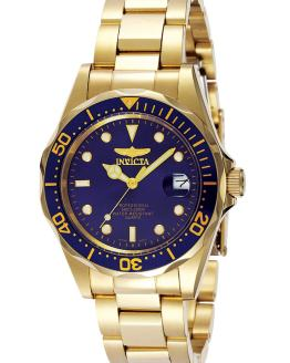Invicta Pro Diver 37.5mm Gold Tone Watch