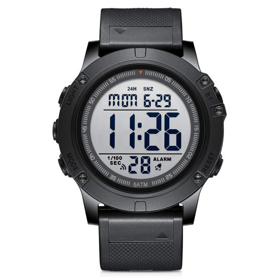 Digital Sport Watches Waterproof Military Tactical