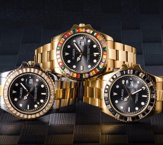 Waterproof Luxury Chronograph Sport Male Wrist Watch