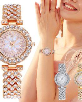 Women Watches Bracelet Casual Quartz Wristwatch