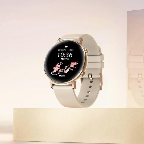 Woman Smartwatch GTR Metal Heart Rate