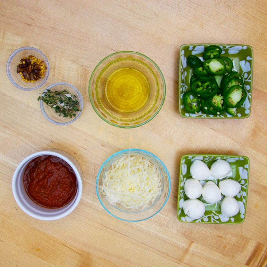 Ingredients-for-Shitake-Mushroom-Pizza-Toppings