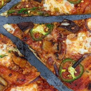 Shitake Mushroom Pizza