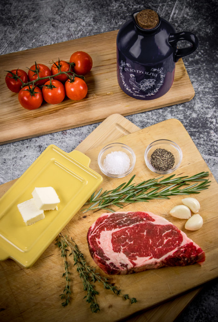 Ingredients for Steak