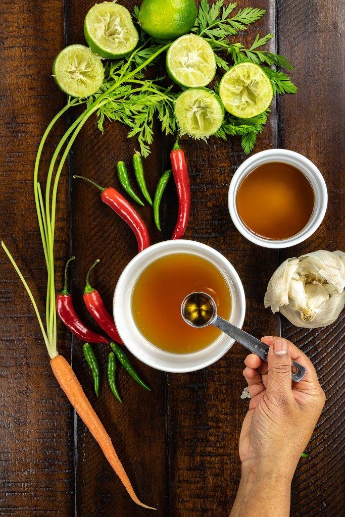 Nuoc Cham Vietnamese Dipping Fish Sauce Method Step 3