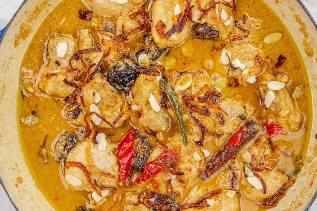 Garnished Chicken Korma