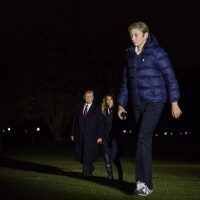 Barron Trump, 12, Is Already Over Six Feet Tall...