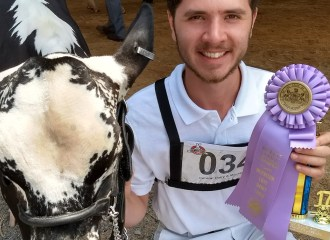 Austin and Jokull recieved Junior champion