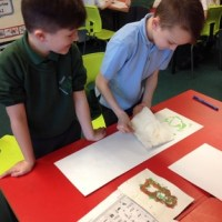 Printing Fun in Year 3
