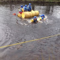 Group 2 Raft Building and Sailing