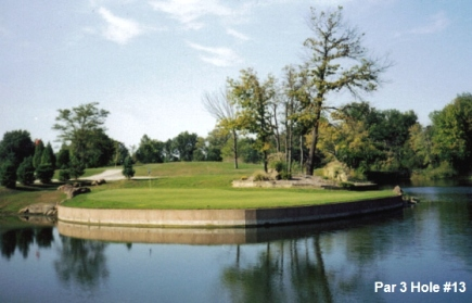 #13 Par 3 Cloverleaf Golf Course