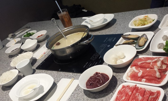 mongolian hotpot, our orders