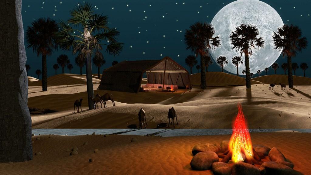 Clovistia Ancient Tent