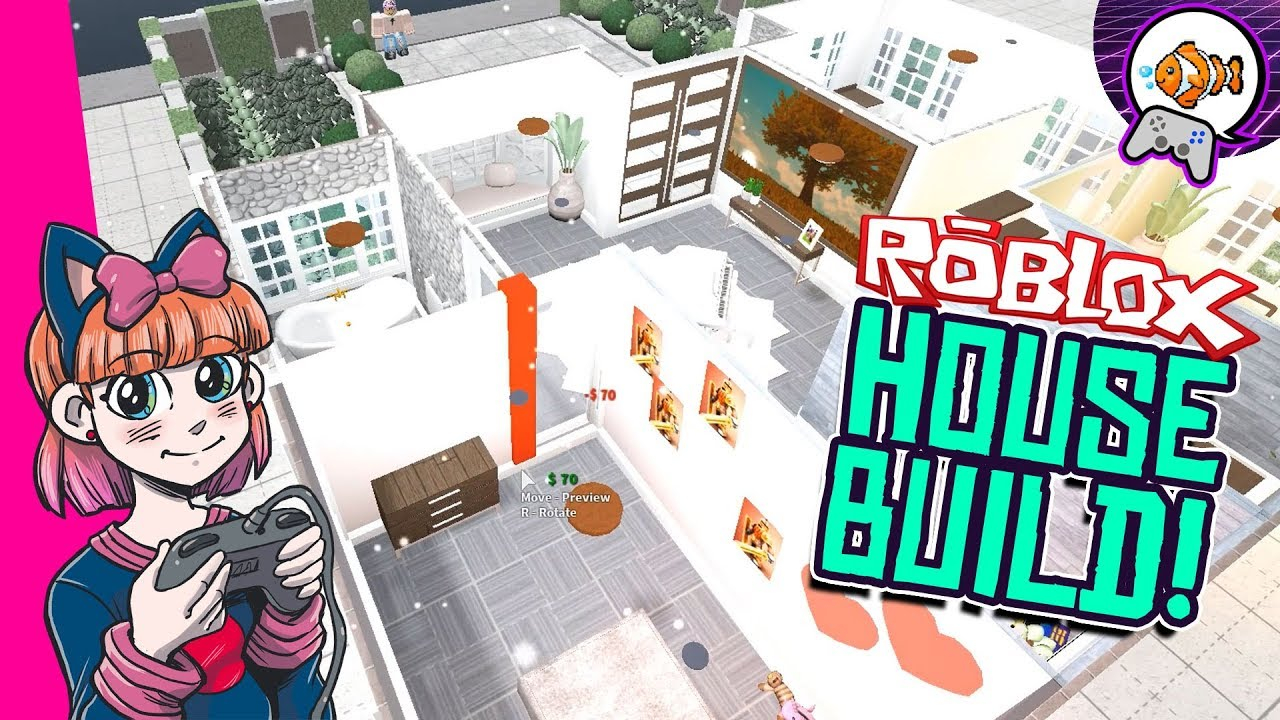 Roblox House Builds For Bloxburg Roblox House Tour Bloxburg Two Story Family Home Speed Build