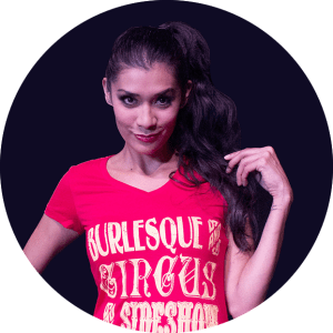 KiKi Maroon talks about being a sober showgirl on the Clown, Interrupted podcast